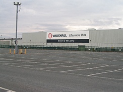Vauxhall's plant in Ellesmere Port exports 88% of its cars, although many of the components are imported, and has made over 5 million since 1962, also making the Vectra from 1995 to 2008; it makes 686 a day (two a minute, 100,000 a year) and the latest model was designed by Mark Adams and Malcolm Ward. 3m Astras have been bought in the UK since 1979, and featured on the Top Gear test track until 2015; the production is split with the Opel Manufacturing Poland site at Gliwice in southern Poland; the Corsa is made at Opel Zaragoza in north-east Spain, with 3-door versions at Opel Eisenach; the Insignia is made at Opel Rüsselsheim