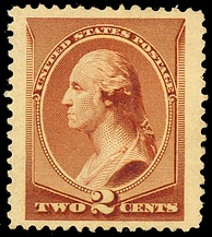 Washington American Bank Note 1883 issue