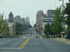 Hamilton Street in downtown Allentown, 2007.