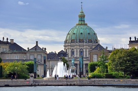 Amalienborg and Frederik's Church