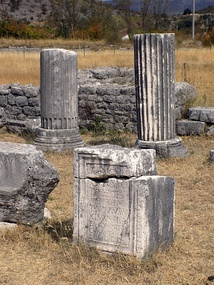 Archeological remains of the Roman period in Doclea.