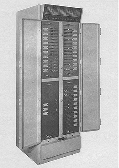 The UNIVAC 1218, a computer built for military applications, was designed in the early 1960s.