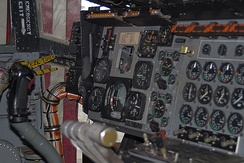 Bell X-22 Partial Cockpit View