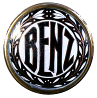 Logo with laurels used on Benz & Cie automobiles after 1909