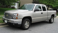 The 2005–06 Chevrolet Silverado Hybrid is a mild hybrid using the electric motor mainly to power the accessories.