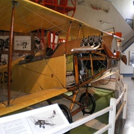 Curtiss JN-4D at the San Diego Air and Space Museum is being restored (to reskin the wings) prior to future display.[37]
