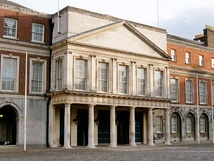 The Viceregal Apartments in Dublin Castle – the official 'season' residence of the Lord Lieutenant