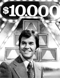 Dick Clark as host of The $10,000 Pyramid