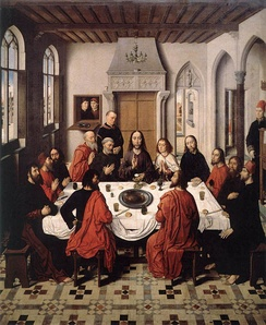 The Last Supper by Dieric Bouts