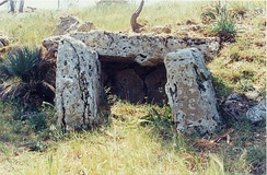 Dolmen of Monte Bubbonia (Sicily)