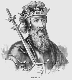 Edward III in Cassell's History of England (1902)