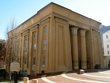 Egyptian Building of the Medical College of Virginia (1845), Richmond, Virginia
