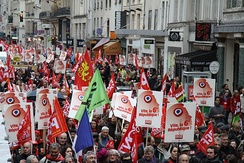 PCF rallying for a 6th republic, 2012 in Paris