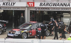 Bargwanna drove a Holden VE Commodore for Kelly Racing in the 2010 V8 Supercar Championship Series.