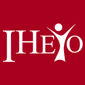 The former IHEYO logo, prior to rebranding as Young Humanists International.