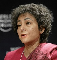 Irene Khan, the first female Secretary General of Amnesty International