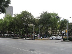 Plaza of Solidarity at site of former Hotel Regis