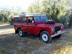 Land Rover Stage One V8 in Spain