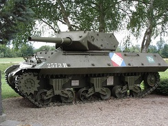 Restored US-supplied French M10 tank destroyer of the 8e RCA (1st French Army) who fought the 1945 Colmar Pocket.