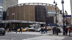 Madison Square Garden in New York City, the site of the 1976, 1980, and 1992 Democratic National Conventions; and the 2004 Republican National Convention.