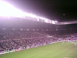 Supporters at St. James' Park