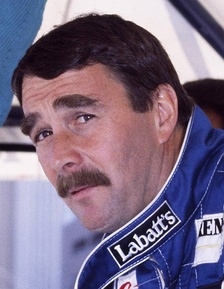 Nigel Mansell finished as runner-up with Williams.