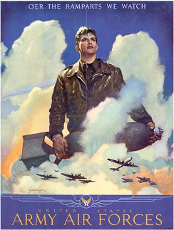USAAF recruiting poster.