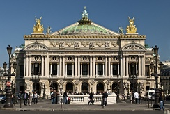 Palais Garnier of the Paris Opéra
