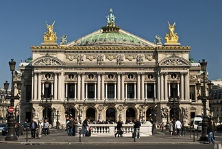 "The Palais Garnier is a cornerpiece of Beaux-Arts architecture characterized by Émile Zola as ""the opulent bastard of all styles"""