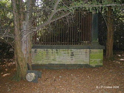 'Robin Hood's Grave' in the woods near Kirklees Priory in West Yorkshire