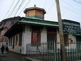 The Roza Bal shrine in Srinagar, Kashmir, claimed by the Ahmadis to be the tomb of Jesus.