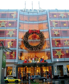 The Macy's West flagship store in San Francisco, the former O'Connor, Moffat & Co. flagship