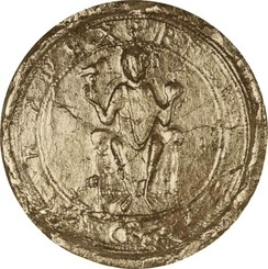 Royal seal of Rudolf, 1079