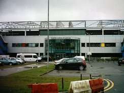 South Leeds Stadium, home of Hunslet