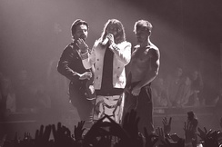 Thirty Seconds to Mars in Moscow, Russia in March 2014