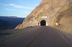 Tunnel on National Route 150, Iglesia Department