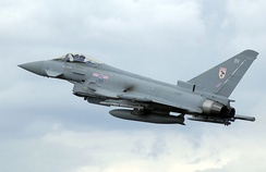 MAI assembled Eurofighter Typhoon of the Royal Air Force