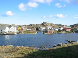 View of the Utsira harbor