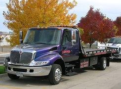 International 4200LP extended-cab