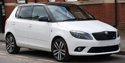 Post-facelift Skoda Fabia 1.4 VRS