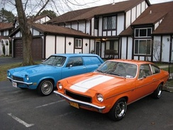1971 Vega Panel Express and 1973 Vega GT Millionth Vega limited edition