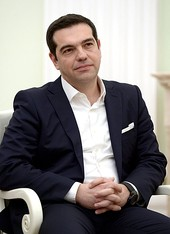 Alexis Tsipras and Banisadr, two examples of politicians who typically do not wear ties.