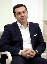 Alexis Tsipras, Prime Minister since 2015