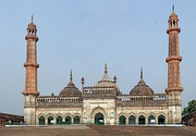 The Asfi mosque, located near the Bara Imambara in Lucknow, India.