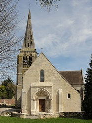 The church in Auger-Saint-Vincent