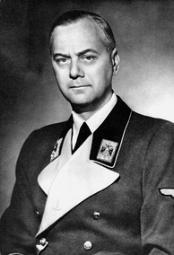Alfred Rosenberg, the official Nazi philosopher, wanted the extermination of the Christian faiths imported into Germany. His influence on the Nazi party's course was limited.[66]