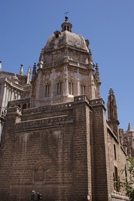 The Mozarabic Chapel (Capilla Mozárabe) in the Cathedral of Toledo