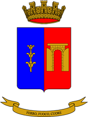 "Coat of arms of the 10th Tank Battalion ""M.O. Bruno"""