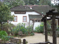 The Dallidet Adobe, built in 1856, is one of SLO's oldest standing buildings
