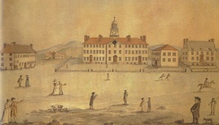 Dartmouth College in the early 1800s